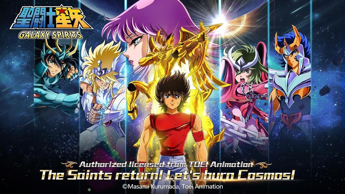 Saint Seiya: Galaxy Spirits poster