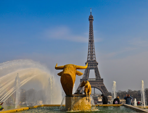 In Paris by Andrei Toma - City,  Street & Park  Fountains ( adventure, europe, relax, france, travel )