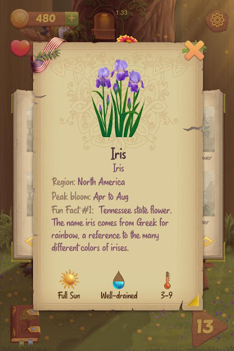 Flower Book: Match-3 Puzzle Game 1.76 screenshots 3