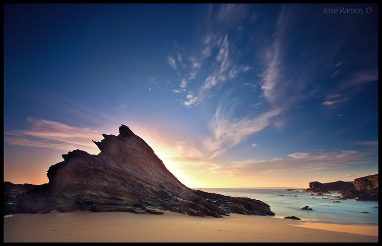 Photo: New photo - long exposure in a Portuguese beach. Aperture: f9.5 Exposure: 15 seconds 3 stop ND grad filter 4 stop ND filter