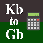 Kb to Gb Converter