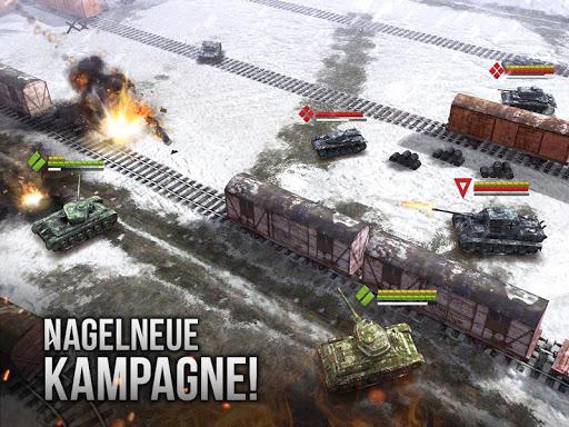 Armor Age: Tank Wars - Panzer & Taktik APK MOD screenshots 1