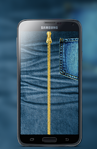 Jeans Zipper Screen Locker screenshot 0