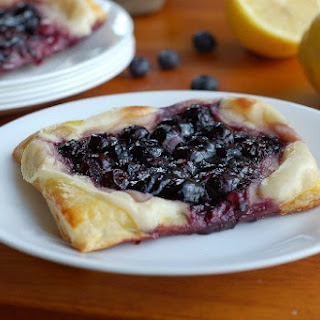 Blueberry Cream Cheese Pastries.