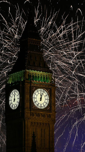 2019 Fireworks New Year Live Wallpaper 1.0 screenshots 1