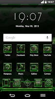 Screenshot of Next Launcher MilitaryG Theme