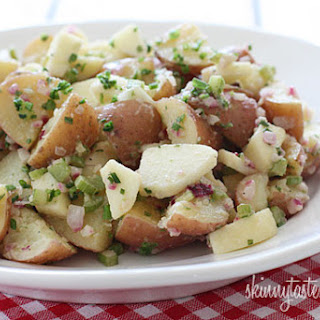 Summer Potato Salad with Apples