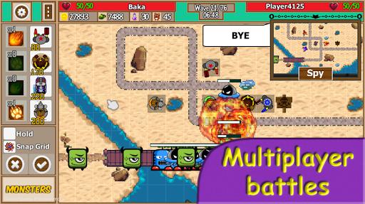 Tower Defense School - Online TD Battles Strategy apktram screenshots 3