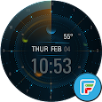 Planetary watch face by Wutron