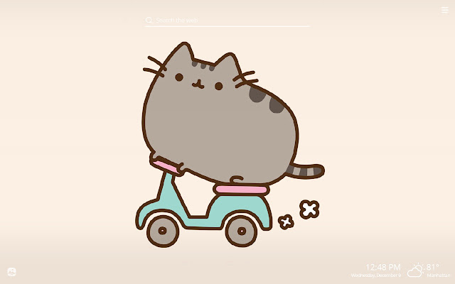 Pusheen Wallpaper Computer Nosirix
