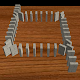 3D Domino Toppling Download on Windows