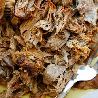 Sweet and Tangy Pulled Pork.