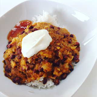 Aduki Bean & Coconut Curried Stew
