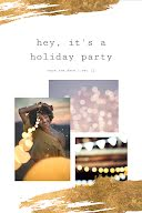 It's a Holiday Party - Postcard item