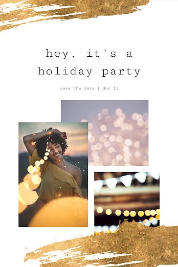 It's a Holiday Party - Christmas Template