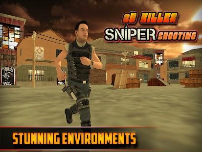 3D Killer Sniper Střelba - náhled