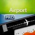 Airport (All Airports) + Flight Tracker Premium icon