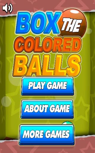 Box The Colored Balls FREE
