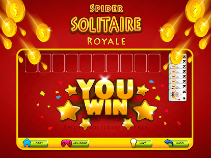Spider Solitaire Royale- screenshot thumbnail
