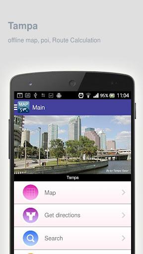 Tampa Map offline