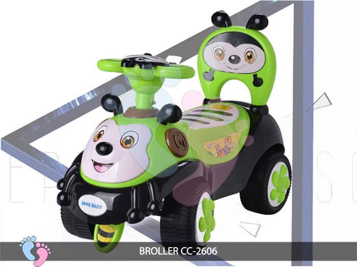 Xe chòi chân trẻ em Broller CC-2606 5