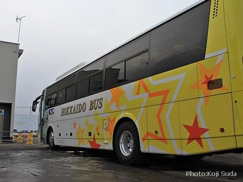 北海道バス「帯広特急ニュースター号」 ・997 帯広営業所にて_02