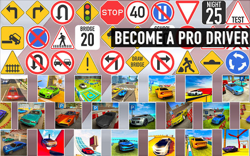 Car Driving School 2020: Real Driving Academy Test modavailable screenshots 21