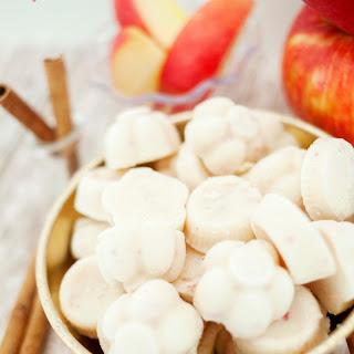Apple Cinnamon Yogurt Bites.