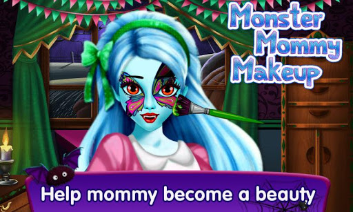Monster Mommy Makeup