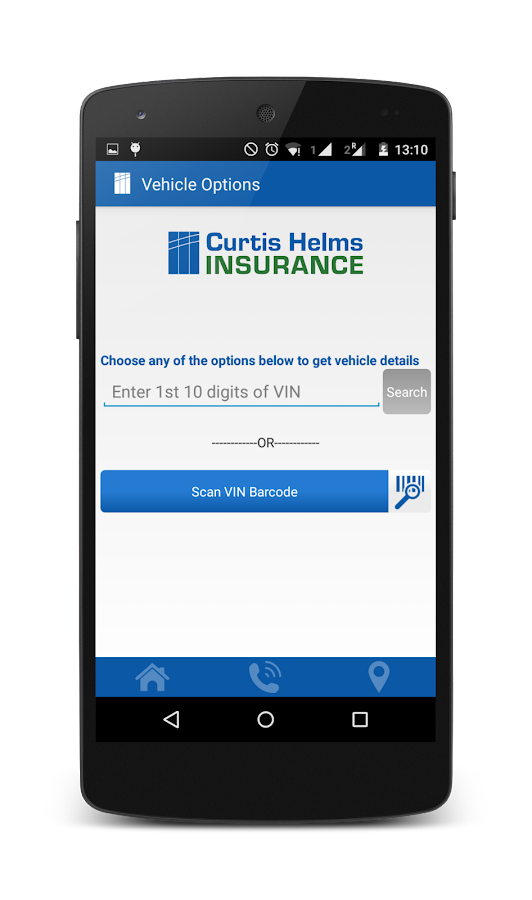 Curtis Helms Insurance Agency- screenshot