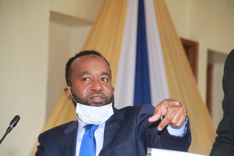 Mombasa Governor Ali Hassan Joho when he appeared before the County Public Accounts and Investment Committee on June 6, 2020.