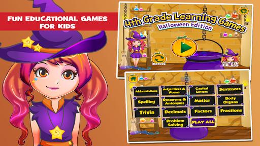 Fourth Grade Halloween Games