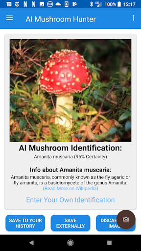 Screenshot for AI Mushroom Hunter & Identifier in United States Play Store