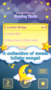 Nursery Rhymes Sleeping Music screenshot 3