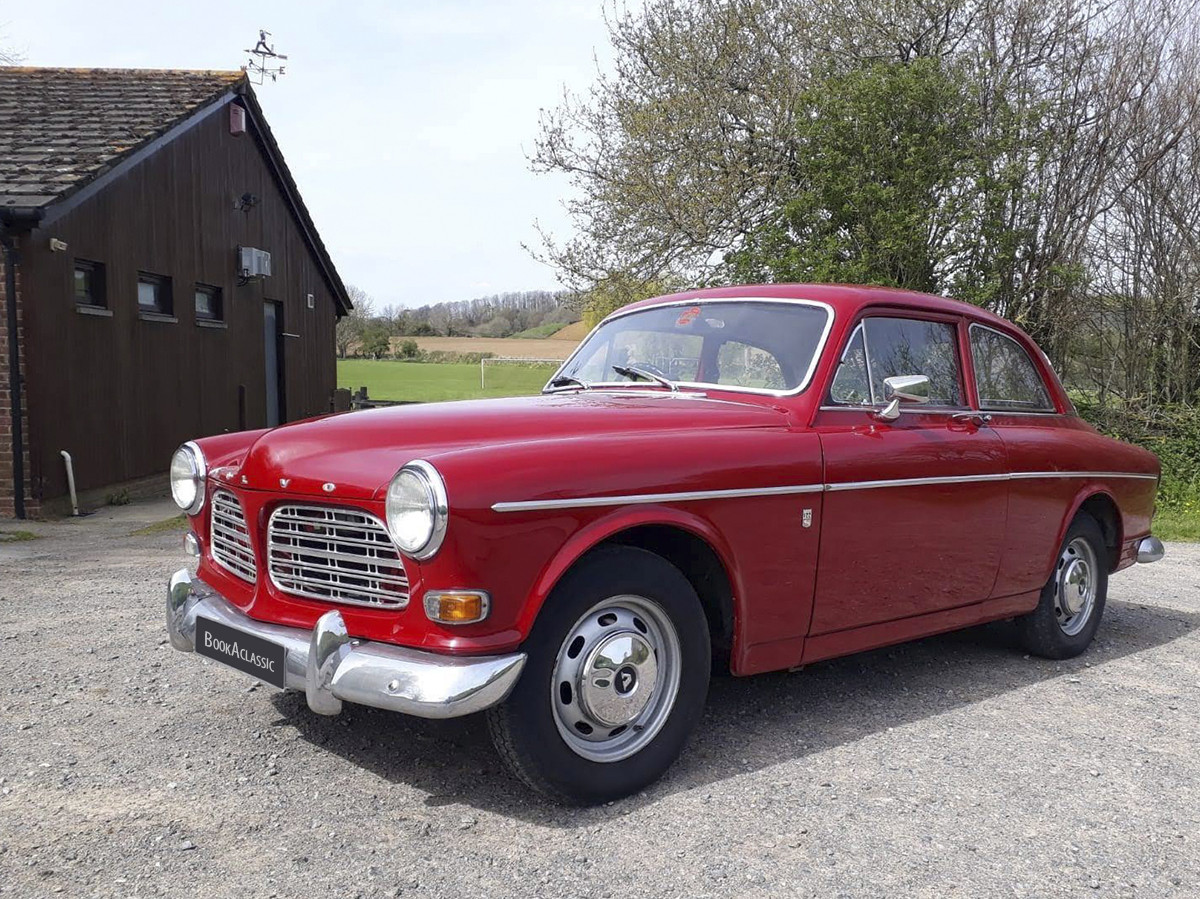 Volvo Amazon 122s Hire Bridport