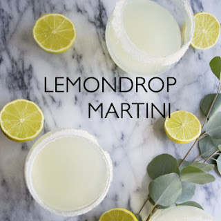 The Classic Lemon Drop Martini