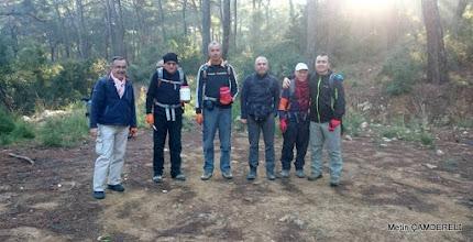 Photo: İşaretleme ekibimiz. EFES-MİMAS (İYON) YOLU 5. Etabı İŞARETLEMESİ -  22.12.2015 (Tahtalı-Karacadağ Arası)
