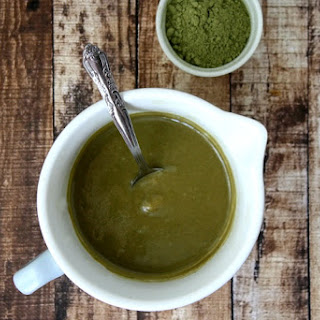 "Sweet Tahini and Matcha Spread (""Almost"" Raw, Vegan, Gluten-Free, Dairy-Free, Paleo-Friendly, No Refined Sugar) Recipe"
