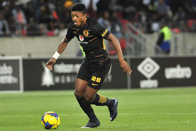Dumisani Zuma of Kaizer Chiefs during the Absa Premiership 2017/18 game between Chippa United and Kaizer Chiefs at Nelson Mandela Bay Stadium, Port Elizabeth on 6 December 2017.