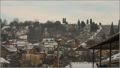 Photo: Cimitirul Crestin din Turda-Veche - vedere din Piata 1 Decembrie 1918, Nr.28 - 2018.01.23