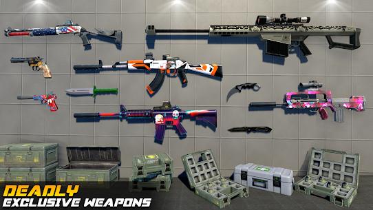 Counter Terrorist Strike FPS Shooting Games MOD | DUMB ENEMY | NO ADS 5