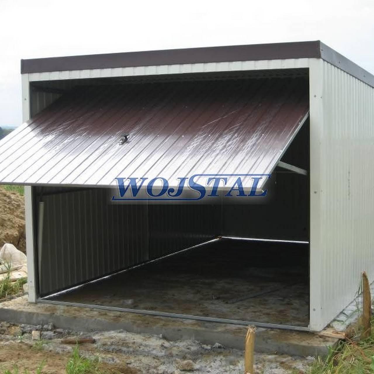 Inne rodzaje PPH Wojstal Producent garaży i eurogaraży - Garaże blaszane JG72