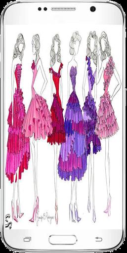 イージードロー服のデザイン