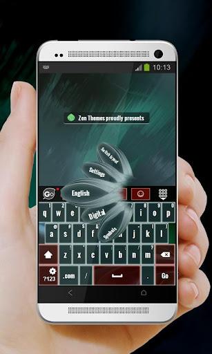 绿色折叠Lǜsè zhédié GO Keyboard