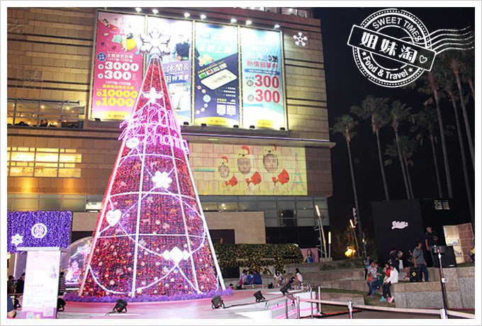 2016夢時代愛Sharing聖誕節主聖誕樹