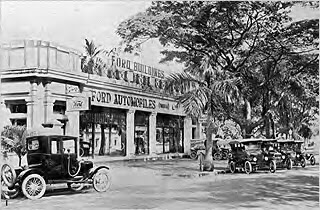 Photo: Car showroom in Madras