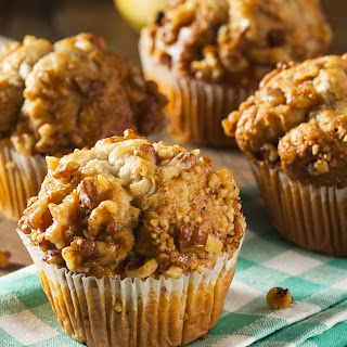 Healthy Banana and Walnut Muffins Recipe