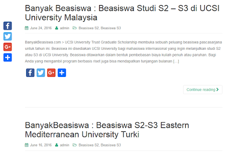 Info Beasiswa  Screenshot Thumbnail