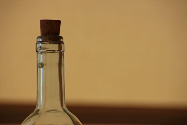 Bottiglia di vetro di Daria77