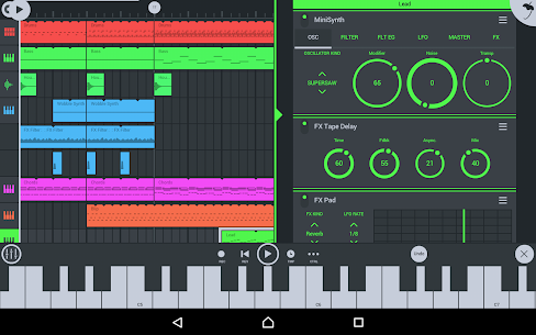 FL Studio Mobile v3.2.61 [Patched] APK + Data OBB 10